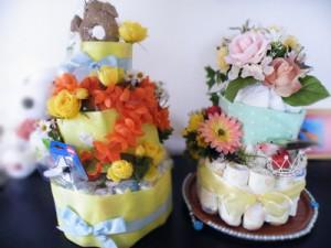 おむつケーキ1